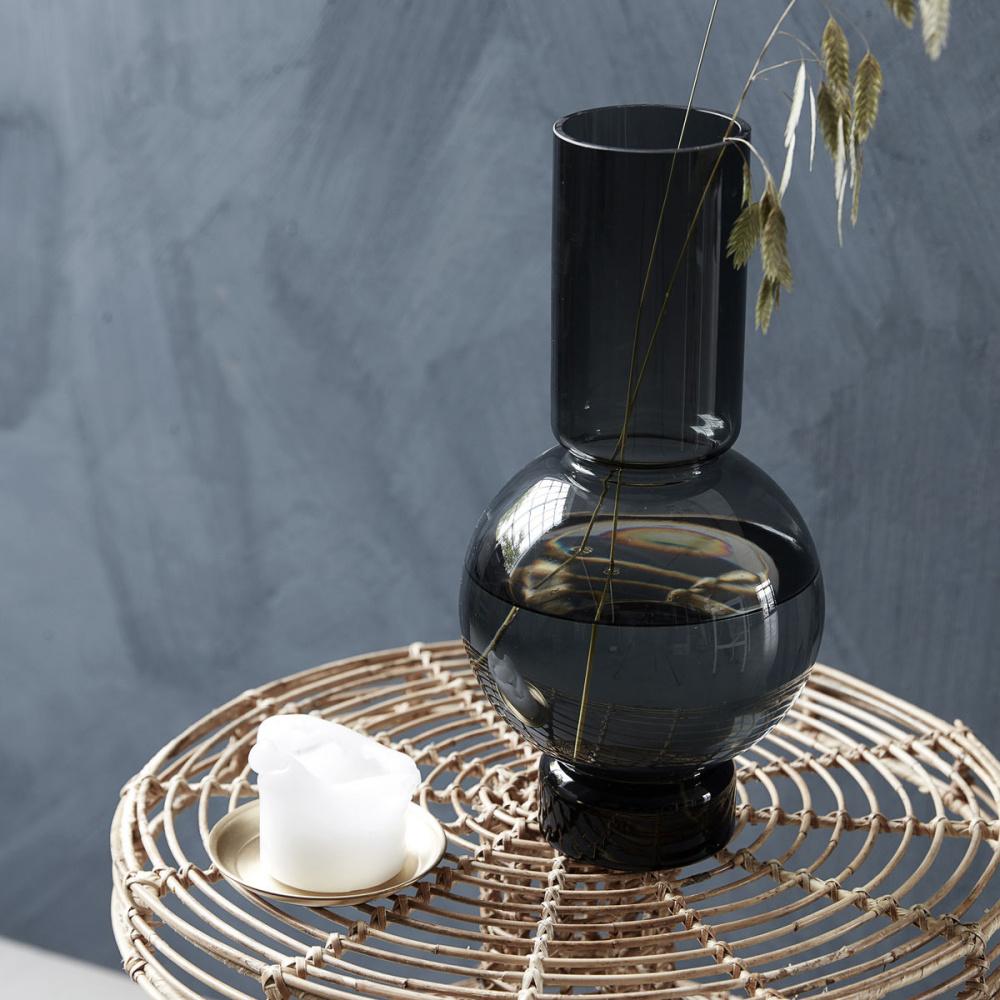 house doctor bubble vase grey 35. Black Bedroom Furniture Sets. Home Design Ideas